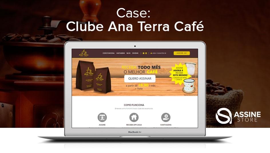 Clube de Assinatura de Café Gourmet Ana Terra Café